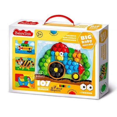 """Мозаика для самых маленьких """"Трактор"""" d2,5/7 цв/107 эл BABY TOYS арт.02519"""
