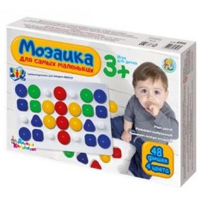 """Мозаика """"Для самых маленьких"""" d40/4 цв/48 эл, арт. 03503"""