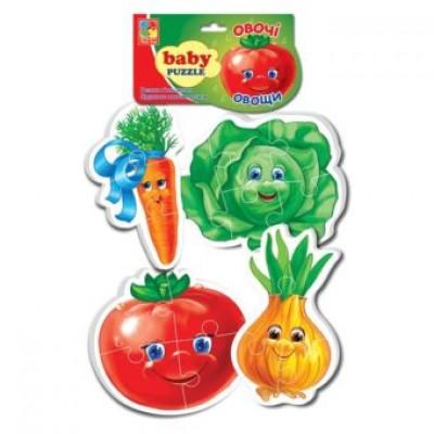 Беби пазлы «Овощи»