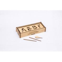 Трафареты для письма, Алфавит русский