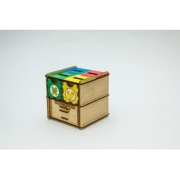 Комодик-куб «Животные»